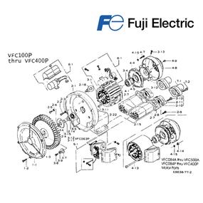 Listado de piezas para el mantenimiento de blowers Fuji