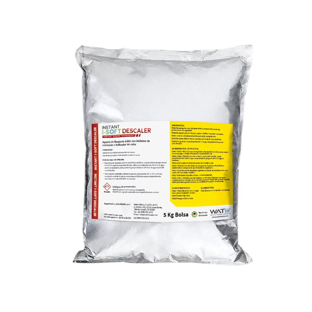 Instant i-soft descaler agente de limpieza de alta capacidad Watch Water