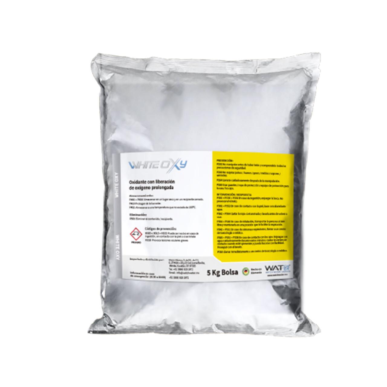 White Oxy Oxidante catalizado para materia orgánica, hidrocarburos y aguas residuales Watch Water