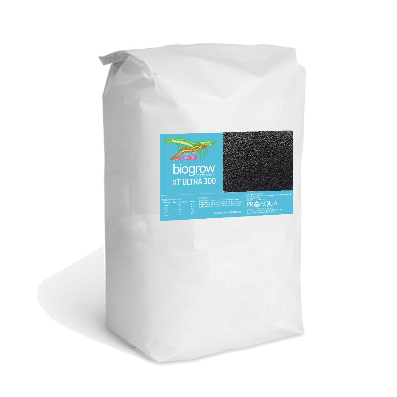 Alimento para camarón Biogrow XT ultra adicionado con: QRILL, OREGO-STIM, OPTIMAX A y GLUCAN MOS