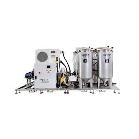 Sistema de alimentación automatizado para criaderos medianos y grandes pienso vivo FFF