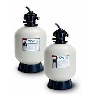 filtro de arena Tarpon para acuicultura y acuarios