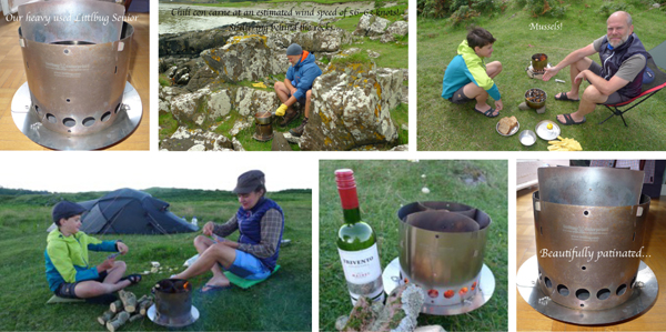 littlbug wood burning camp stove
