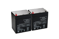 12V 4.5Ah Replacement Scooter Battery x 2