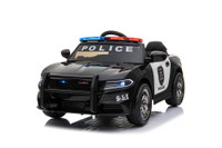12V Police Style Ride On Car