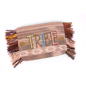 'Ale By Alessandra  Beaded Tribe Clutch