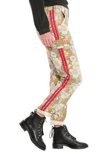 DA-NANG ROLLED UP CARGO PANT - FLOWER POWER