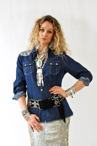 Tasha Polizzi Roxy Denim Shirt