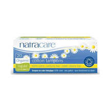 Natracare Organic Cotton Tampons - Regular (non applicator)