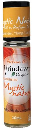 Vrindavan Roll On Organic Perfume Oil - Mystic Nature
