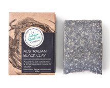 Australian Natural Soap Company Australian Black Clay Soap - with box