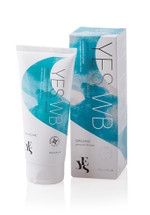 YES WB Water Based Organic Personal Lubricant in 100ml tube size