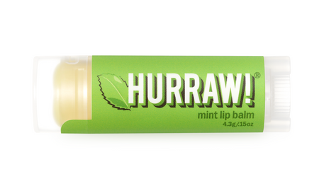 Hurraw! Organic Lip Balm - Mint