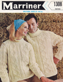 Vintage Aran Polo, V-Neck and Crew Neck Sweater