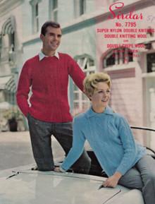 Vintage Unisex Aran Sweater
