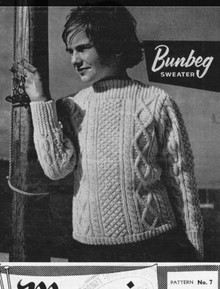 Vintage Large Neck Sweater