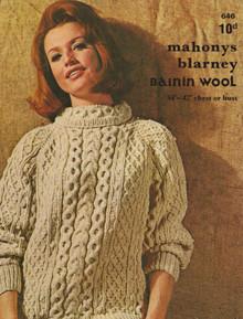 Vintage Ladies Roll Neck Sweater