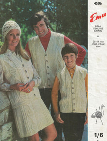 Vintage Aran Family Cardigans