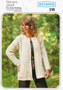 Vintage Women's Aran Jacket