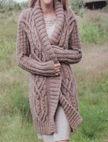 Vintage Women's Aran Coat