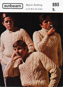 Vintage Men's Aran Sweaters