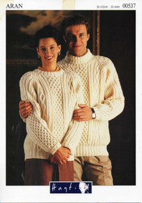 Vintage Honeycomb Aran Sweater