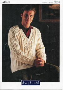 Vintage Men's Aran Sweater