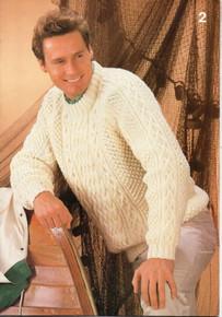 Vintage Men's Raglan Sweater