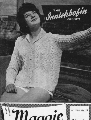 Ladies Vintage Inisboffin Jacket