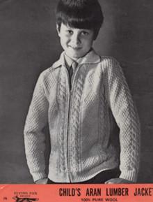 Children's Vintage Lumber Jacket