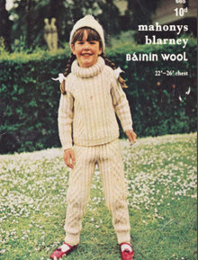 Children's Vintage Trews and Polo Neck Sweater