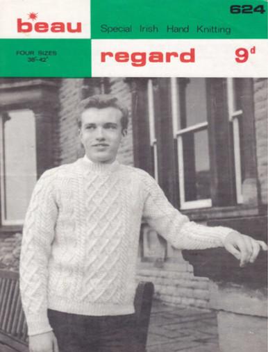 Vintage Men's Crew Neck Sweater