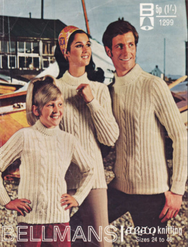 Vintage Family Aran Sweaters