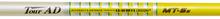 "NEW GRAPHITE DESIGN TOUR AD MT-5 R2 FLEX GRAPHITE DRIVER SHAFT WITH .335"" TIP"