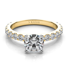 SOLITAIRE DIAMOND ENGAGEMENT RING EN7006