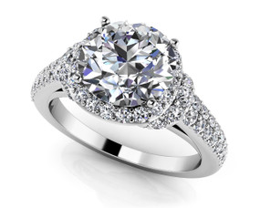 Love Letter Engagement Ring Style BDMS244-A