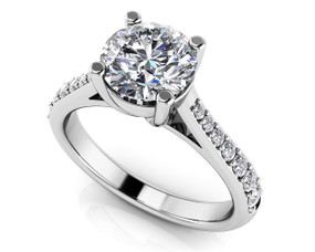 Timeless Engagement Ring Style BDSR50-A