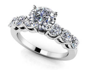 Lucky 7 Engagement Ring Style BDMS101A-4