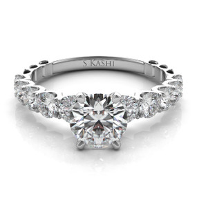 Classic Diamond Engagement Ring EN7463
