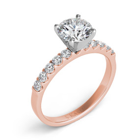 SOLITAIRE DIAMOND ENGAGEMENT RING EN6708