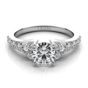 SOLITAIRE DIAMOND ENGAGEMENT RING EN7154