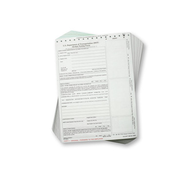 DOT Breath Alcohol Testing Forms - Intoxilyzer 8000