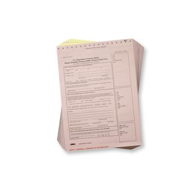 DOE Breath Alcohol Testing Forms - Intoxilyzer 8000
