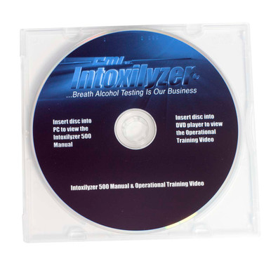Intoxilyzer 500 Operational Training DVD