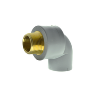 90 Degree Male Threaded Lead Free Brass Elbow