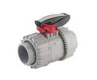 Polypropylene True Union Ball Valve with Socket Fusion Outlets