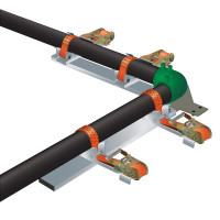 Adjustable Electrofusion Pipe Alignment Clamp Set