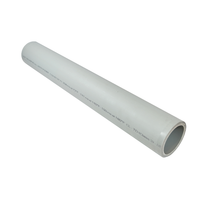 Monolayer Grey Polypropylene Pipe