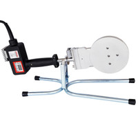 "JAC-125 Socket Fusion Welder 1/2"" - 4"" Capacity ND 20mm - 110mm"