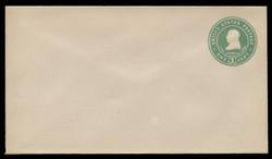 U.S. Scott # U 379/10, UPSS #1377a/14 1903 1c Franklin, blue green on white - Mint (See Warranty)